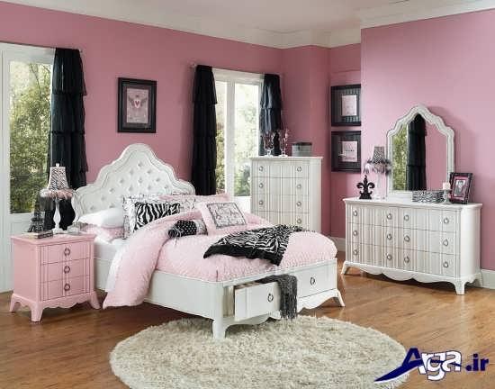 مدل اتاق خواب دخترانه نوجوان و جوان