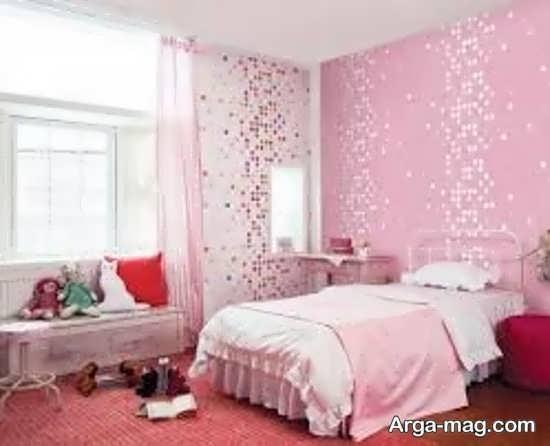 کاغذ دیواری برای اتاق استراحت