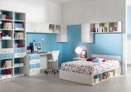 مدل تخت و کمد نوجوان با طراحی های کاربردی