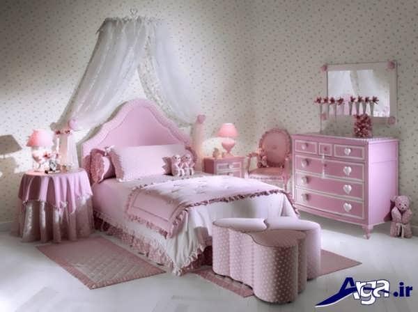 تخت و کمد برای نوجوان دختر