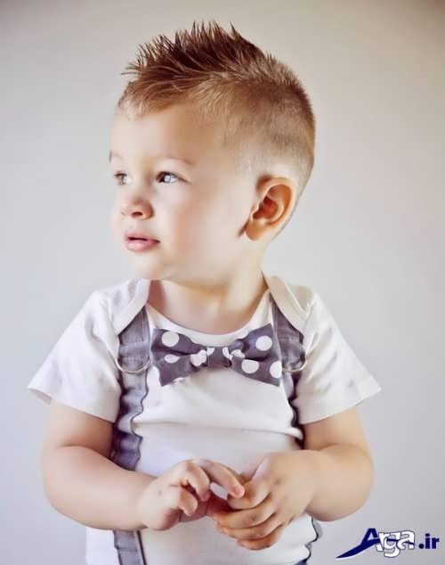 مدل موی کوتاه پسر بچه