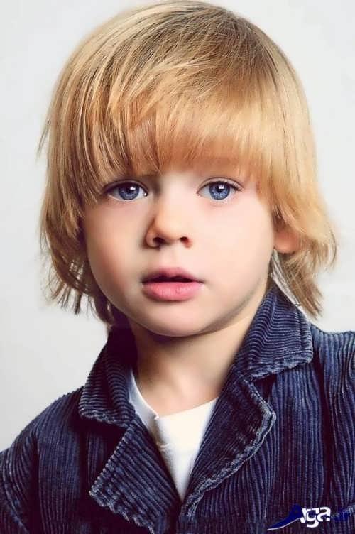 مدل موی بلند برای پسر بچه ها