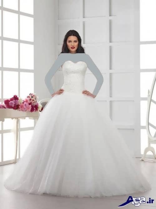 مدل لباس عروس پفی ترک