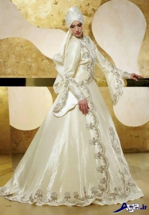 لباس عروس محجبه