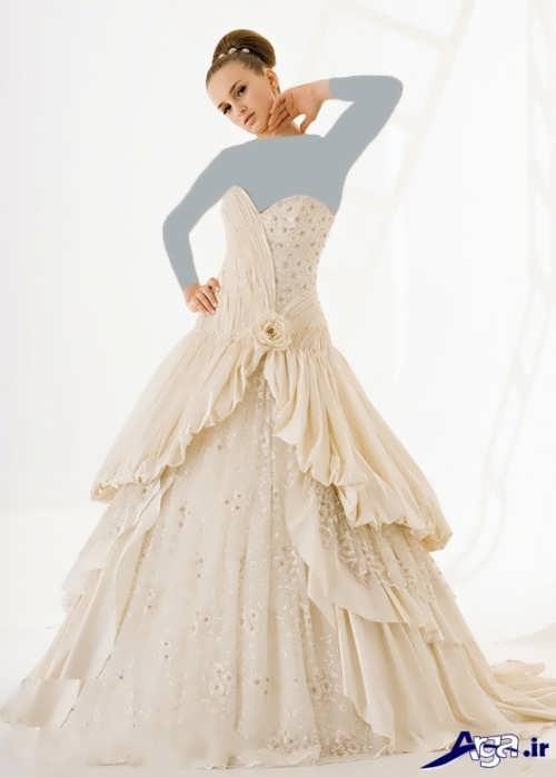 طرح های زیبا و متفاوت لباس عروس ترک