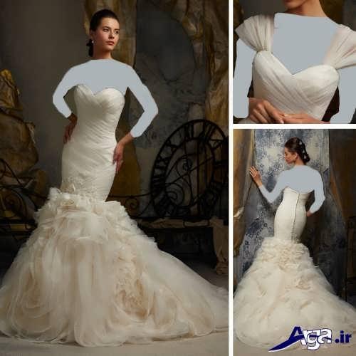 مدل لبسا عروس دامن ماهی
