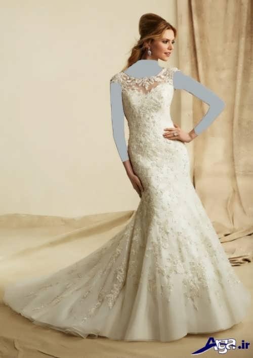 زیباترین مدل لباس عروس دنباله دار