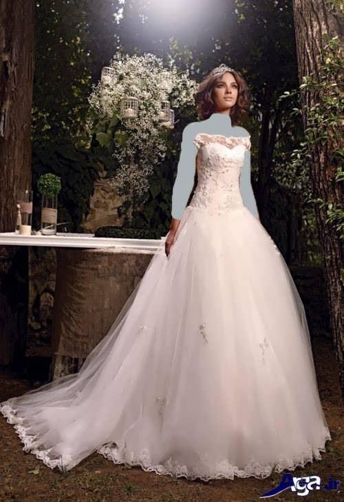 مدل لباس عروس ساده ترک