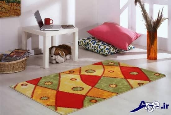 مدل فرش فانتزی برای اتاق خواب