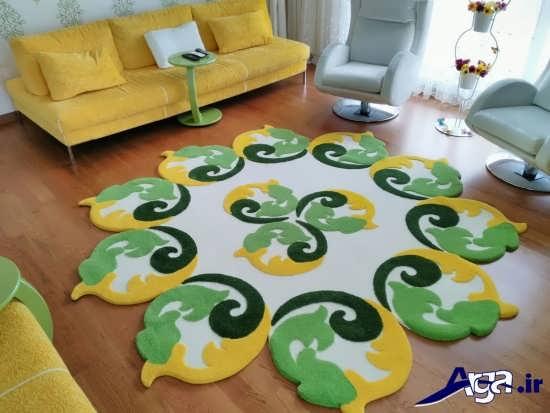 فرش فانتزی زیبا و مدرن