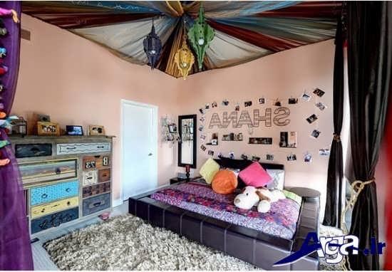 تزیین جالب سقف اتاق کودک