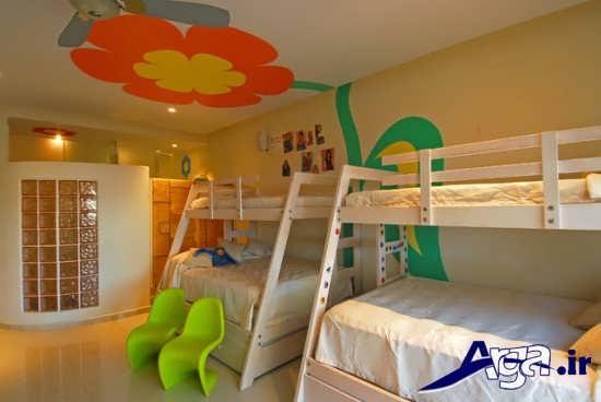 تزیین سقف اتاق کودک با اسباب بازی