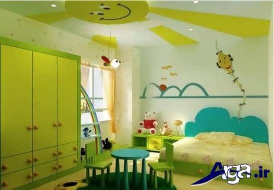 نقاشی سقف اتاق کودک