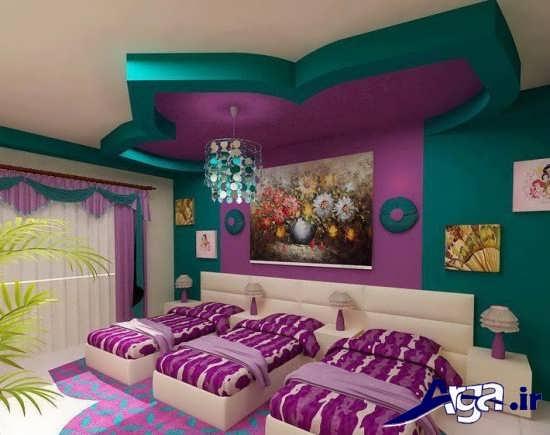 تزیین شیک سقف اتاق کودک