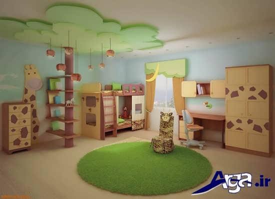 تزیین سقف اتاق کودک با ایده های جدید و متفاوت