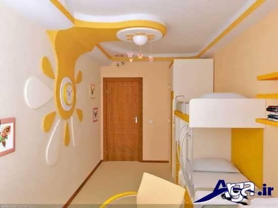 تزیینات جالب سقف اتاق خواب