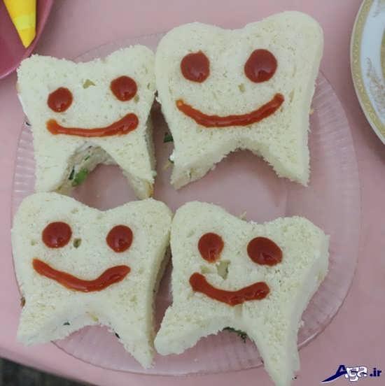 تزیین خوراکی های دندونی