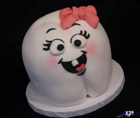 مدل کیک دندونی