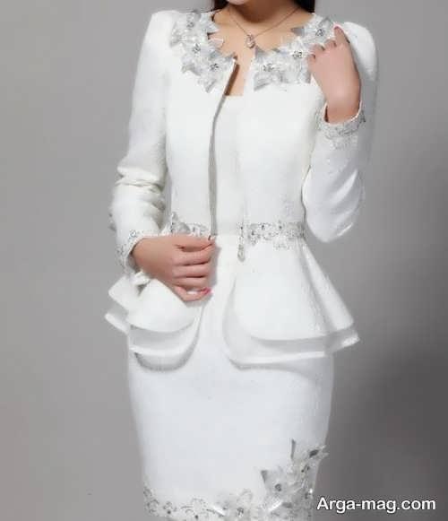 تصاویری از مدل کت دامن مجلسی