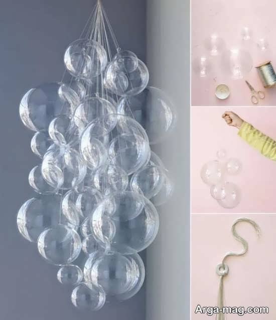 ایده ساخت لوستر زیبا