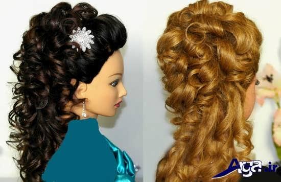 مدل آرایش موی باز
