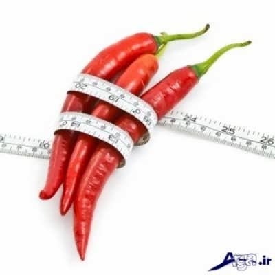 خاصیت های فلفل قرمز برای کاهش وزن