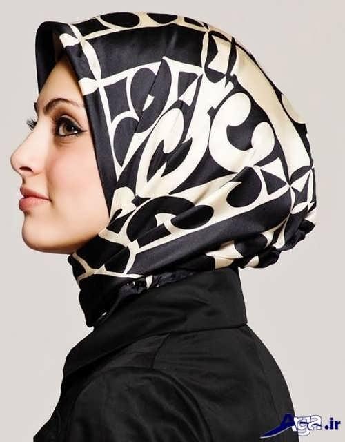 بستن روسری به سبک لبنانی