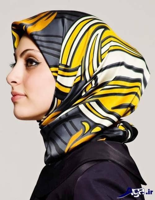 مدل بستن روسری به شیوه لبنانی