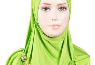 آموزش بستن روسری لبنانی به صورت مرحله به مرحله