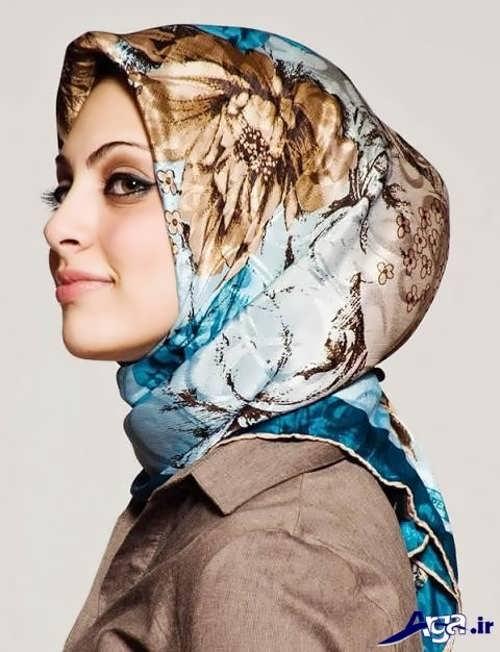 مدل های بستن روسری