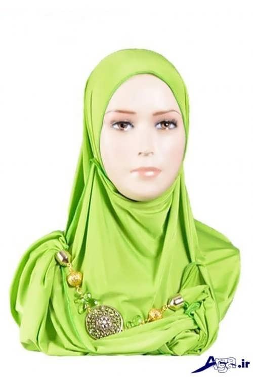 مدل های بستن روسری به روش لبنانی