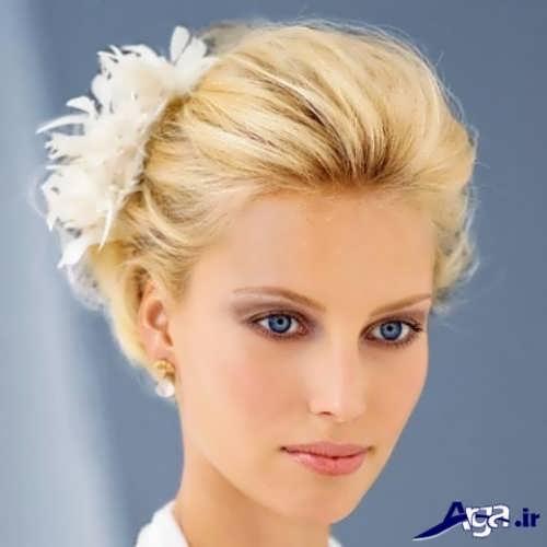 روش های بستن موی کوتاه