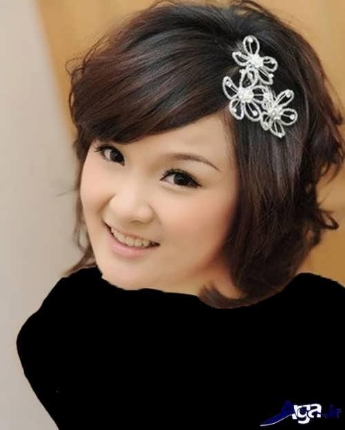 مدل های زیبا برای بستن موی کوتاه