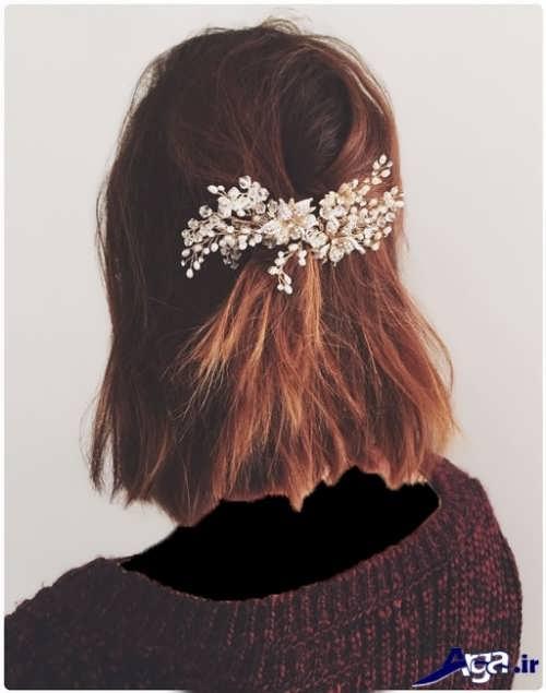 بستن موهای کوتاه