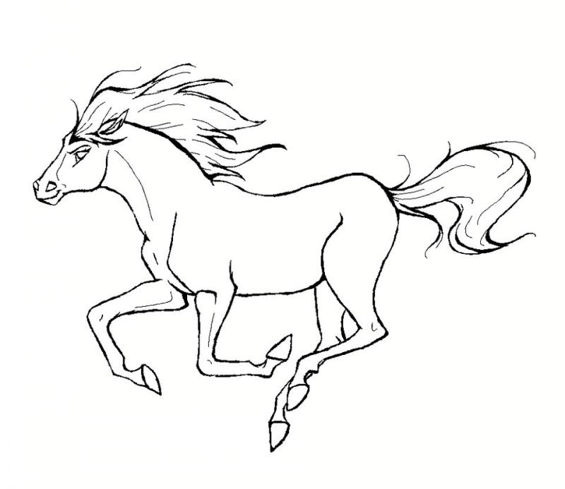 مدل مانتو ساده طرح دار آموزش کشیدن نقاشی اسب و انواع رنگ آمیزی اسب برای کودکان