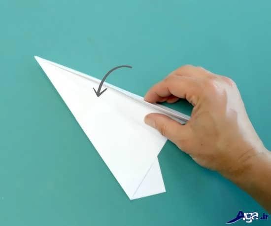نحوه ساخت موشک کاغذی
