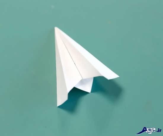 ساخت موشک کاغذی برای کودکان