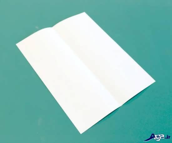 موشک کاغذی زیبا و جالب