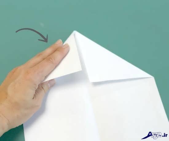 آموزش تهیه موشک کاغذی