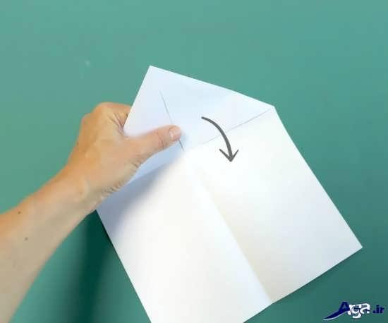 موشک کاغذی برای کودکان