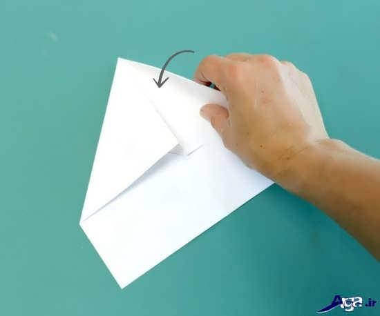ساخت کاردستی موشک کاغذی