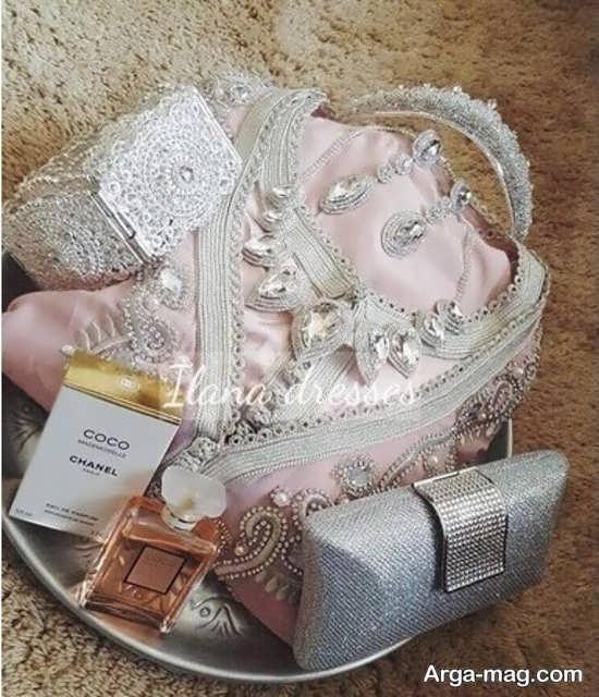 تزیینات هدایای عروس شیک