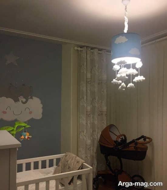 مدل تزیینات جذاب سقف اتاق کودک