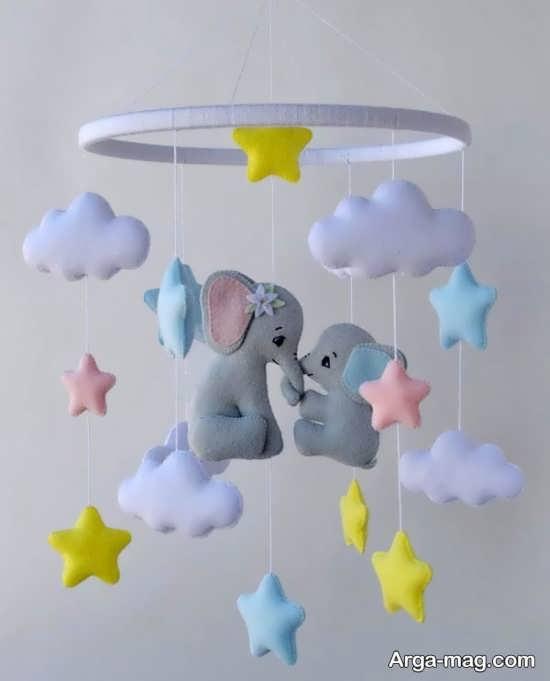 مدل تزیینات هنرمندانه سقف اتاق کودک