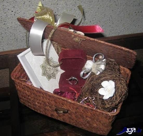 تزیین خریداهای عروس جدید