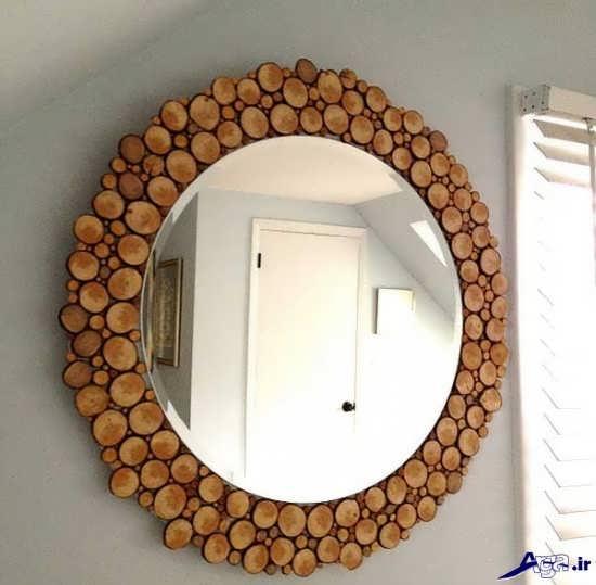 خلاقیت در تزیین آینه