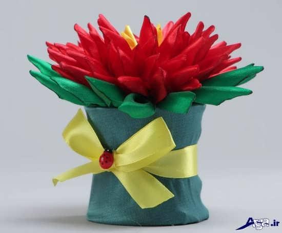 ساخت گل تزیینی با کاغذ