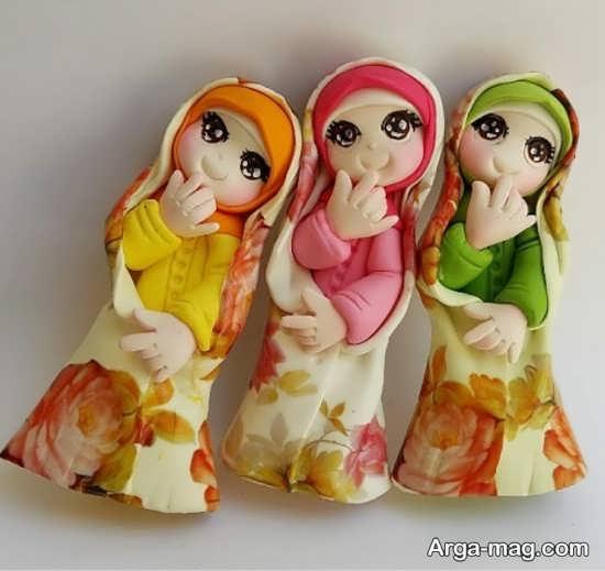عروسکهای خمیری جالب