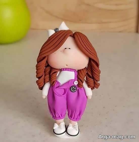 مدل های متنوع عروسکهای خمیری
