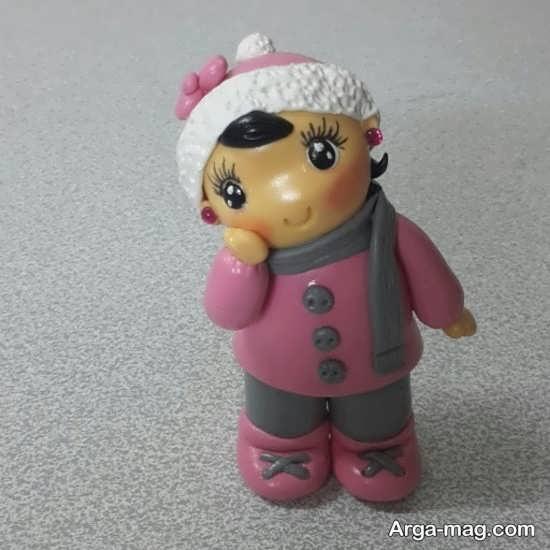 عروسکهای خمیری قشنگ